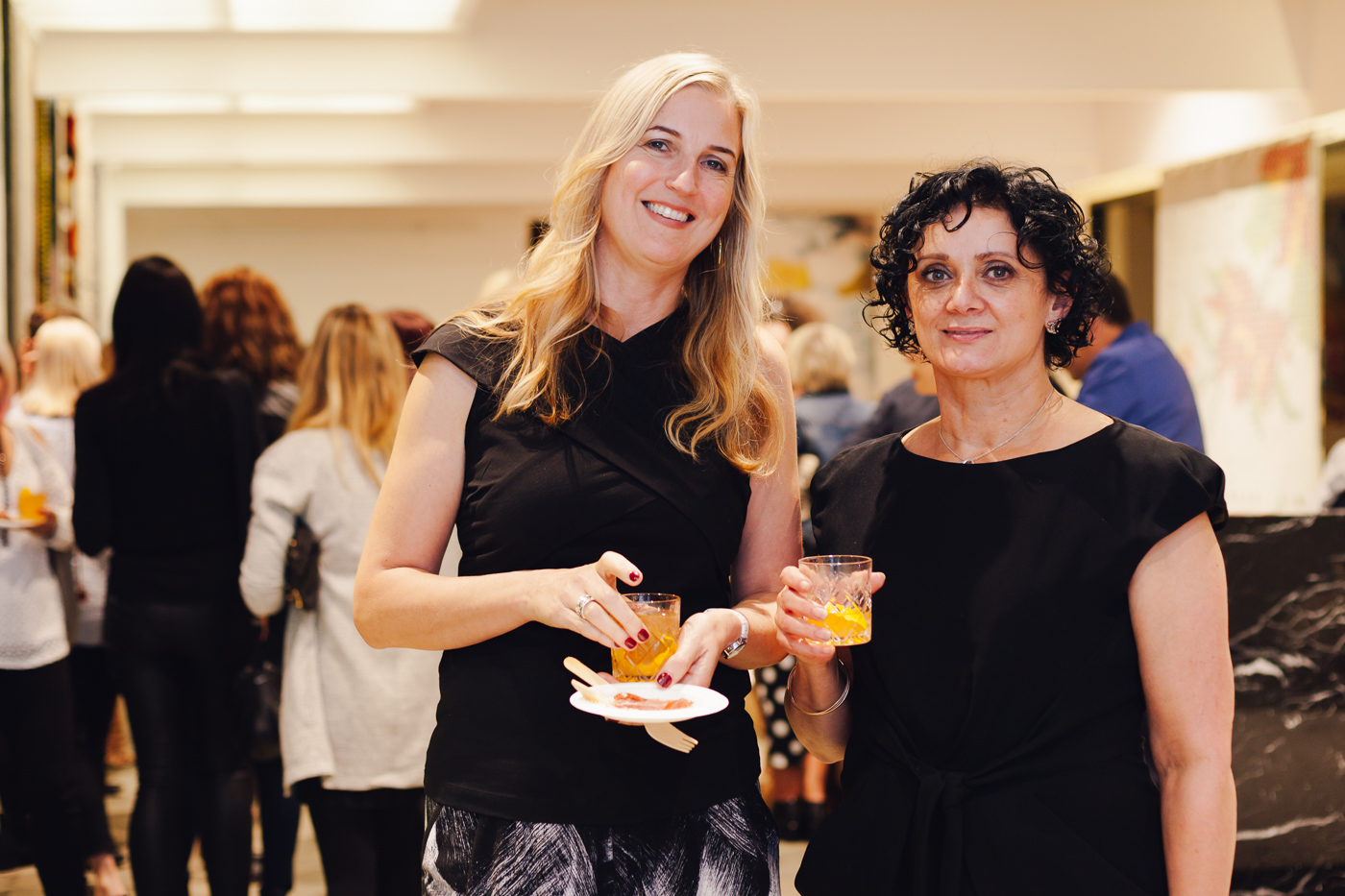Tanya & Nicki of Designer Rugs || NEW AGAIN by Petrina Turner Design for Designer Rugs | The launch event