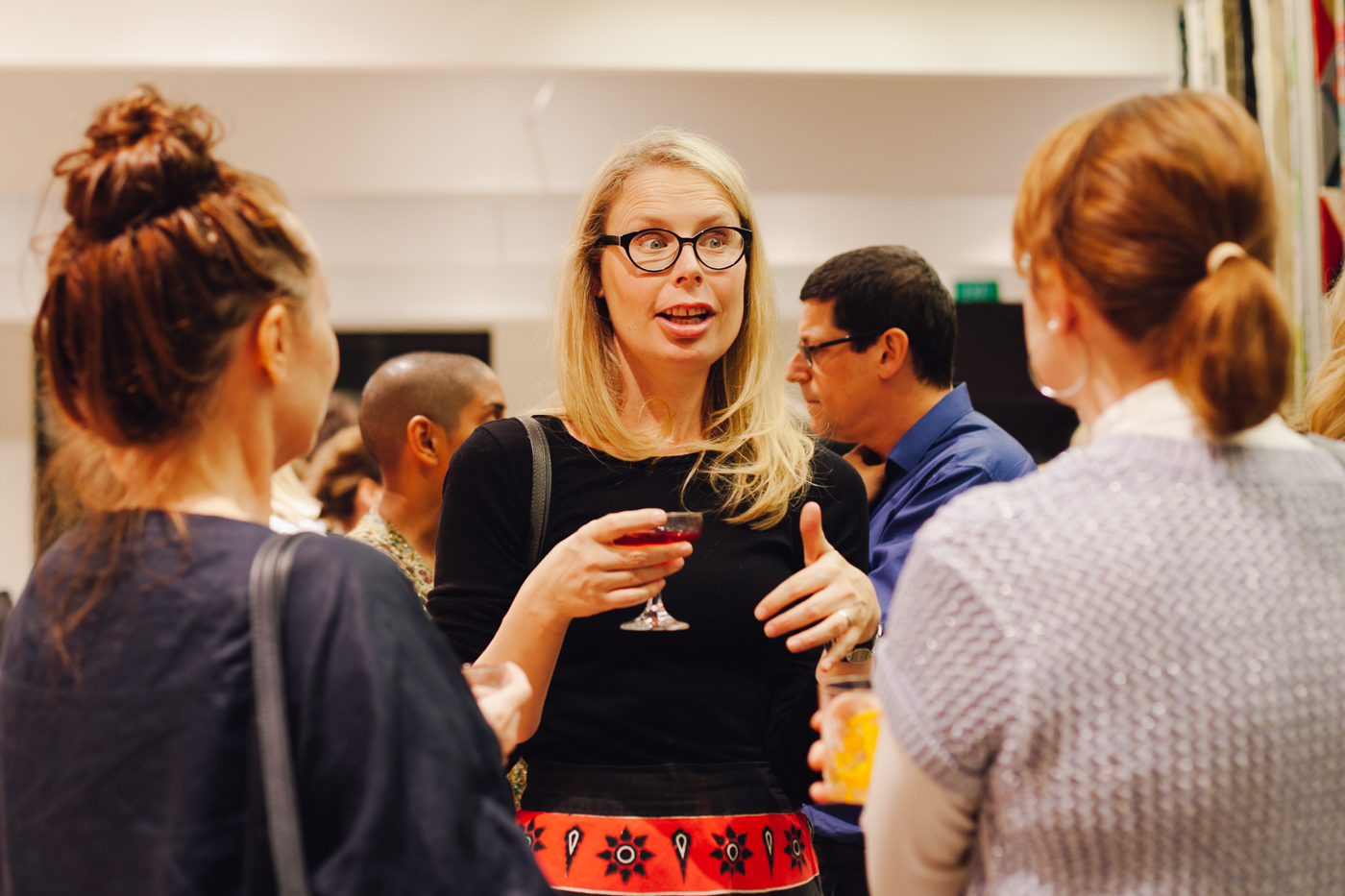 Jess Reftel Evans... responsible for the beautiful collection images | NEW AGAIN by Petrina Turner Design for Designer Rugs | The launch event