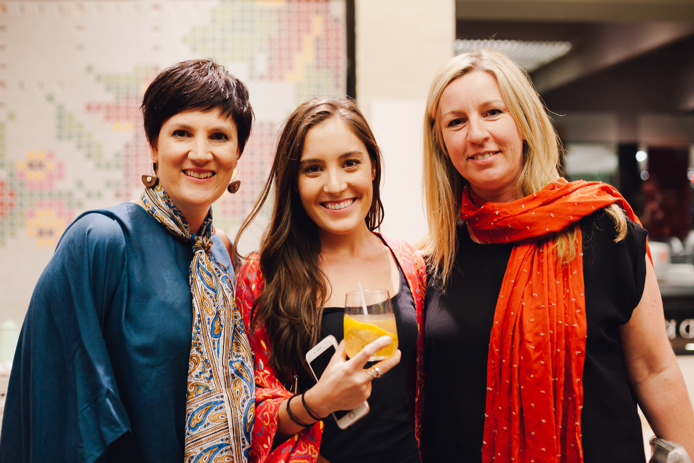 Eleesa Howard, Bianca Deguara & Annika Oja-Corp | NEW AGAIN by Petrina Turner Design for Designer Rugs | The launch event