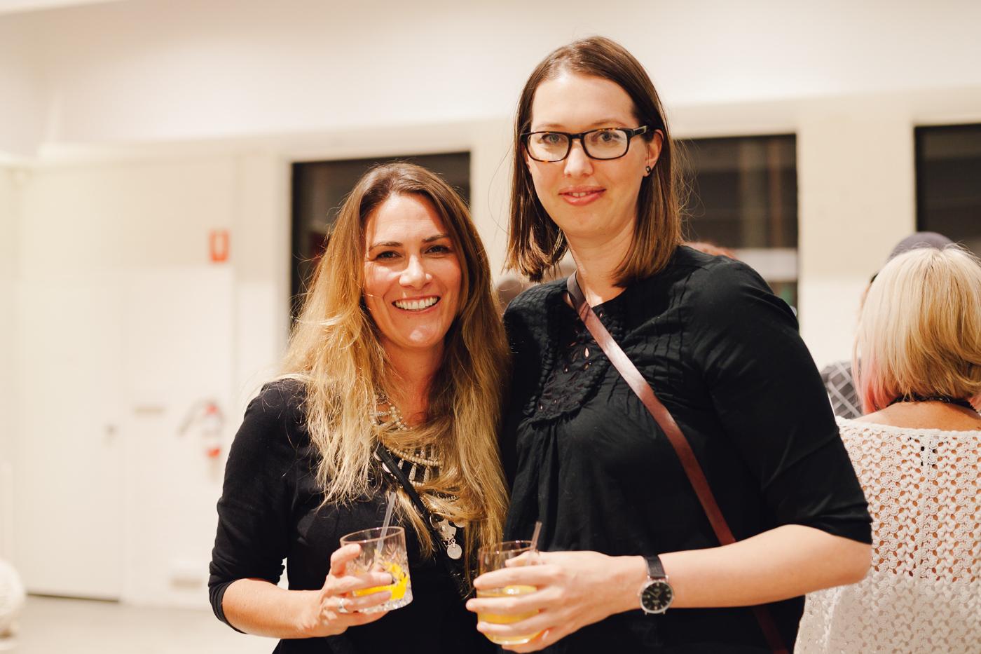 Christine McDonald & Teresa Ceberek | NEW AGAIN by Petrina Turner Design for Designer Rugs | The launch event