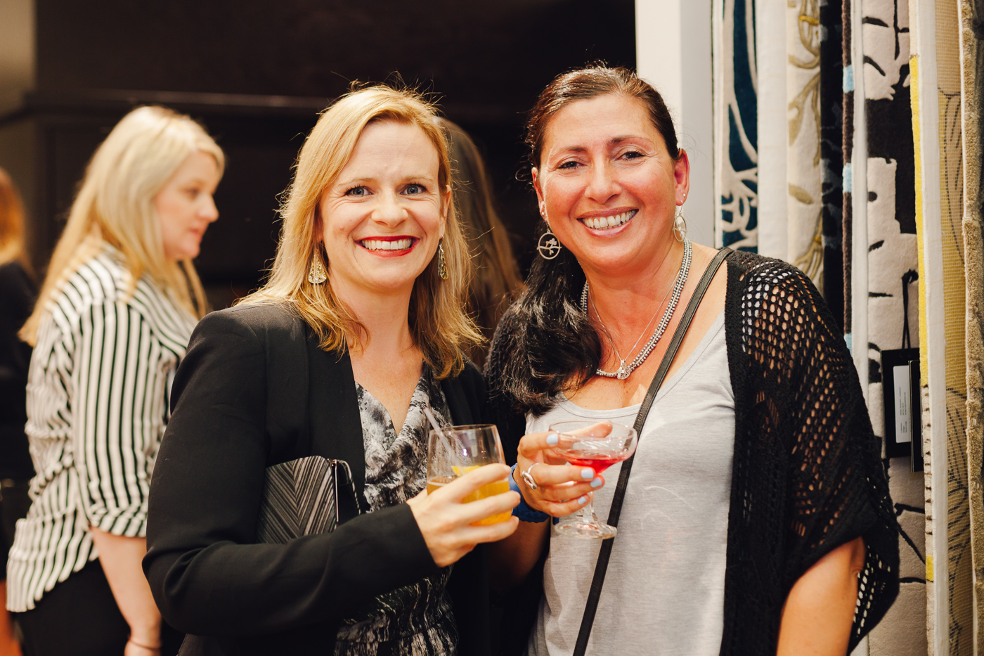 Kristy Taylor & Felicia Bonacci | NEW AGAIN by Petrina Turner Design for Designer Rugs | The launch event