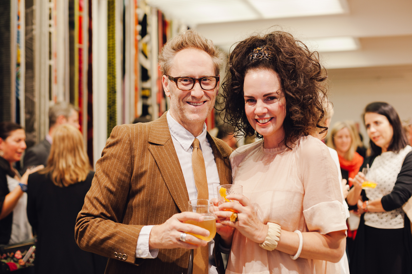 Mark Smith & Lynda Gardener | NEW AGAIN by Petrina Turner Design for Designer Rugs | The launch event