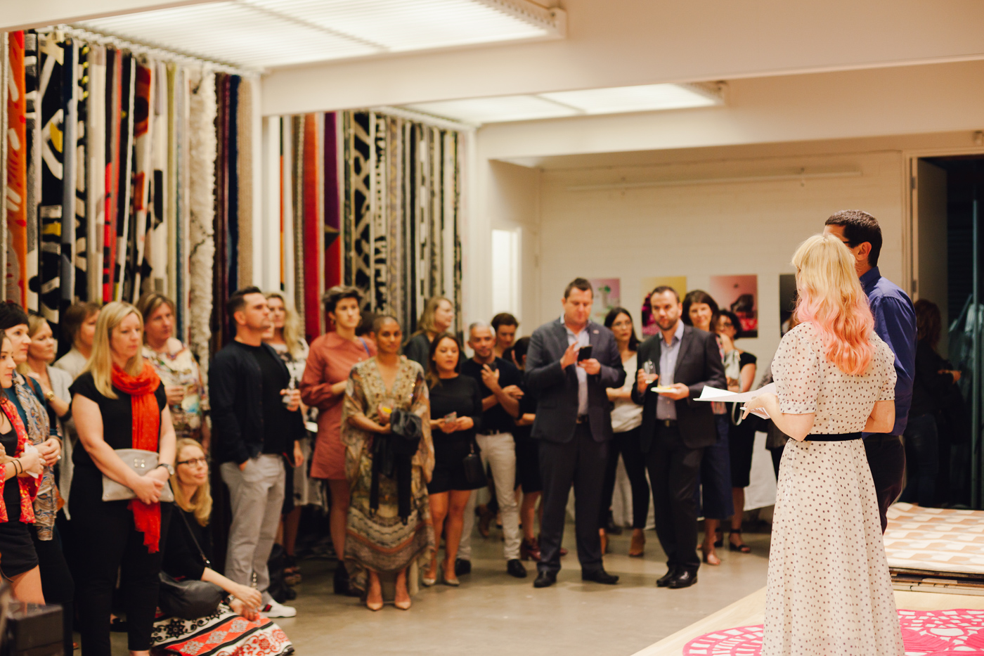 I believe... you should share your stories | NEW AGAIN by Petrina Turner Design for Designer Rugs | The launch event