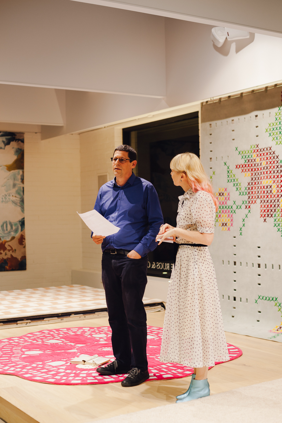 Petrina Turner & Yosi Tal | NEW AGAIN by Petrina Turner Design for Designer Rugs | The launch event