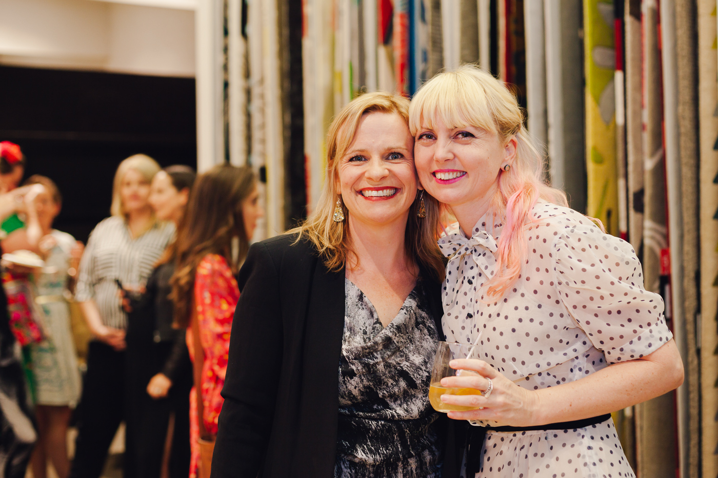 With Kristy Taylor | NEW AGAIN by Petrina Turner Design for Designer Rugs | The launch event