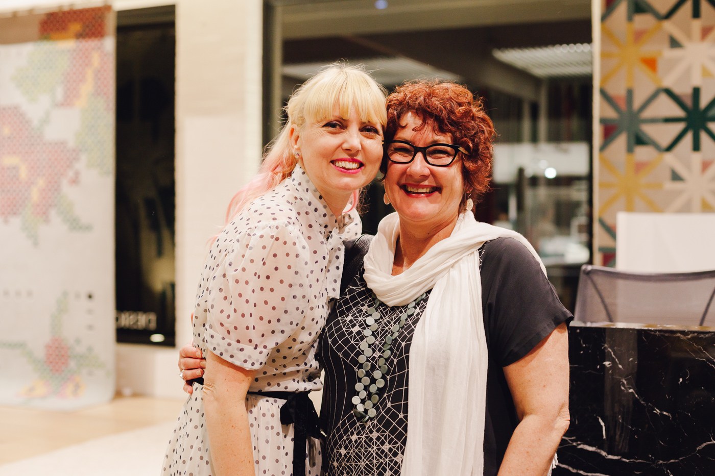 With Robyn Shrives | NEW AGAIN by Petrina Turner Design for Designer Rugs | The launch event