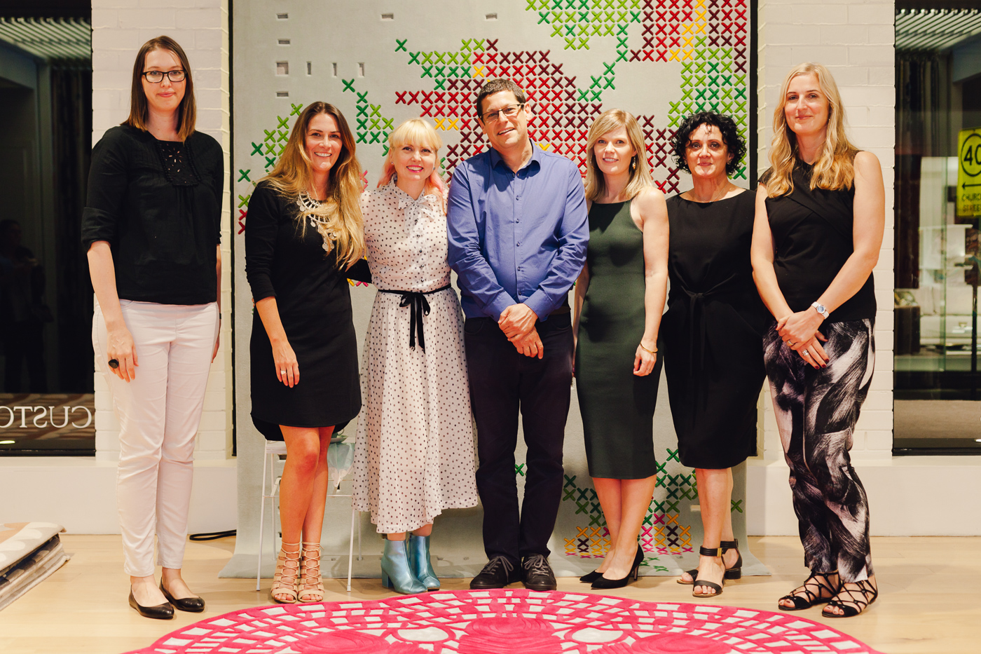 Designer Rugs family | NEW AGAIN by Petrina Turner Design for Designer Rugs | The launch event