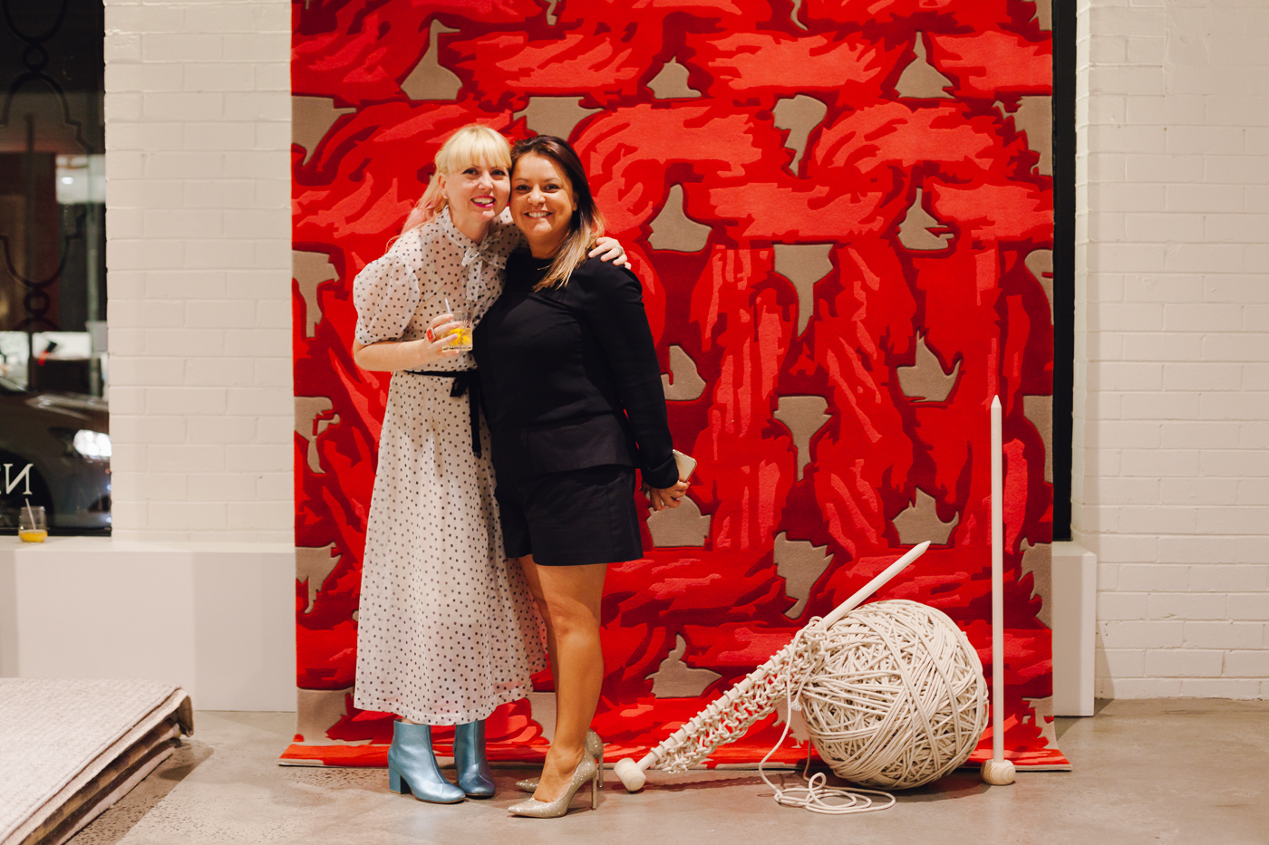 With Monica Del Rosario | NEW AGAIN by Petrina Turner Design for Designer Rugs | The launch event