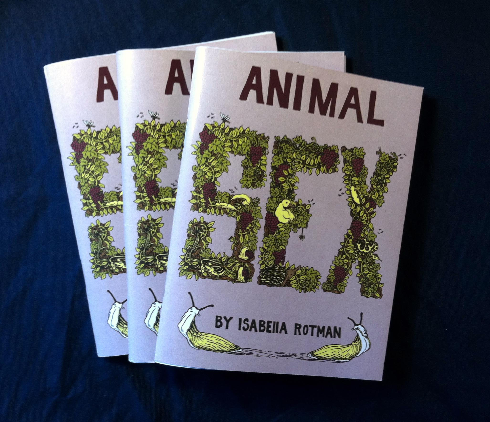 $9, available online and in stores. A compilation of 4 books and never before published material. Original Animal Sex issues are no longer in print.