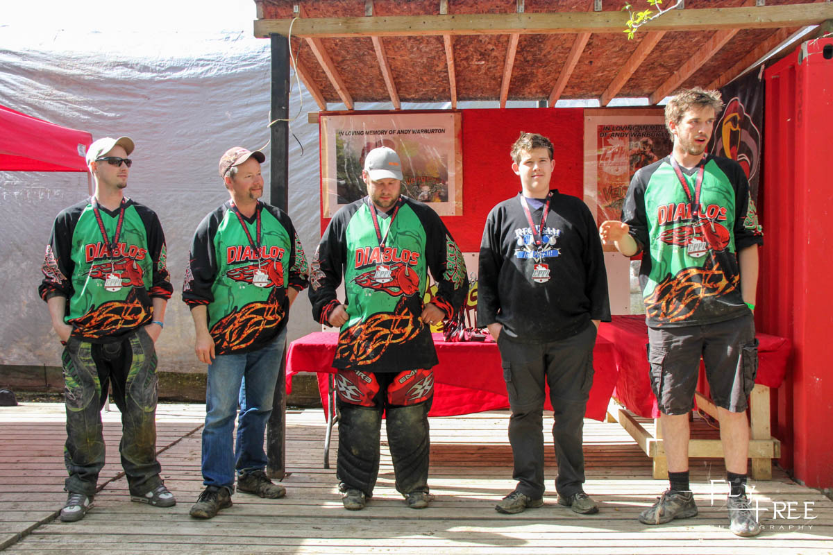 2nd Place D4 5Man -  Diablos -(really they did take 2nd)