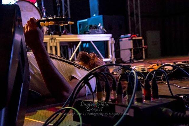Lost in momentary bliss! Pic by @singleorigincreative #nightquarter #bliss #rocknroll #goldcoast