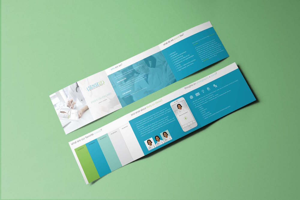 Brand Guidelines for Sensely