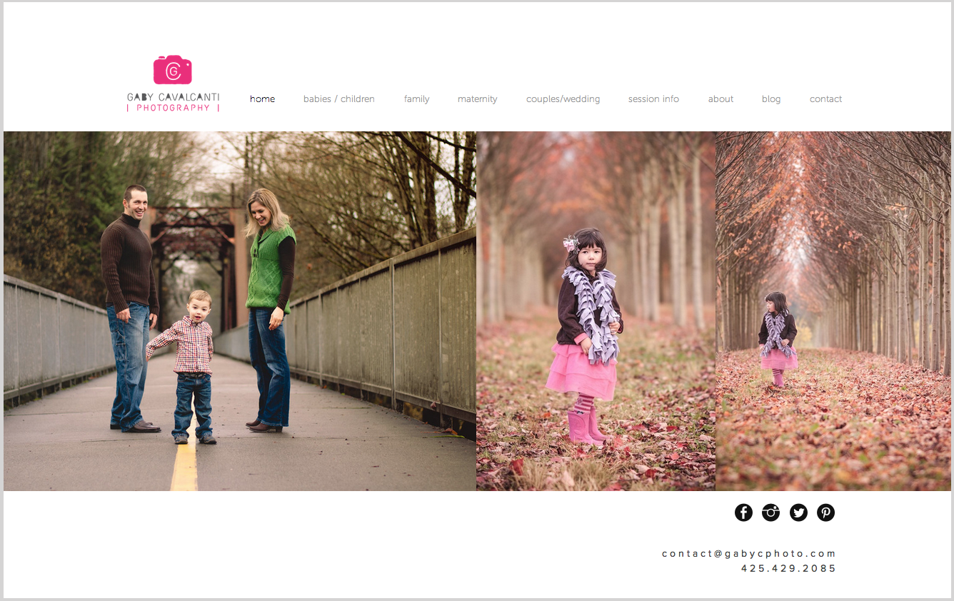 ©Gaby Cavalcanti Photography - New website redesign