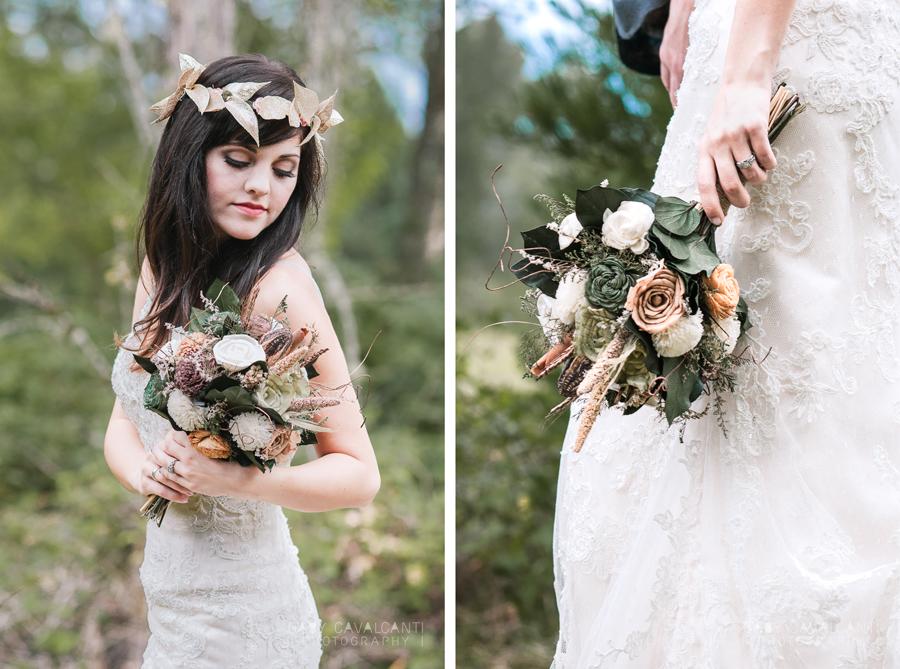 bridal stylized portrait