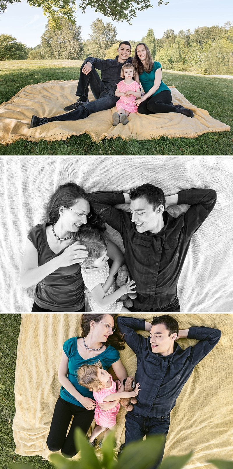 relaxed family photography seattle