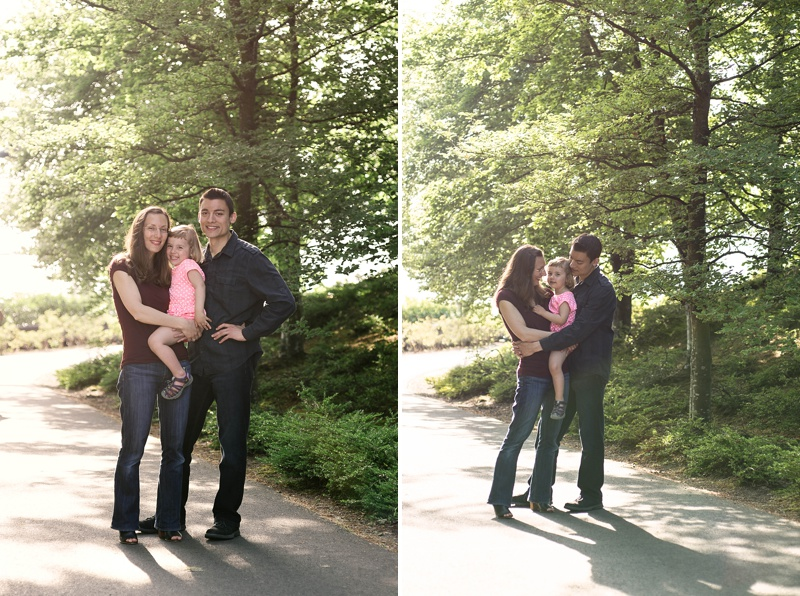 Backlist family photography