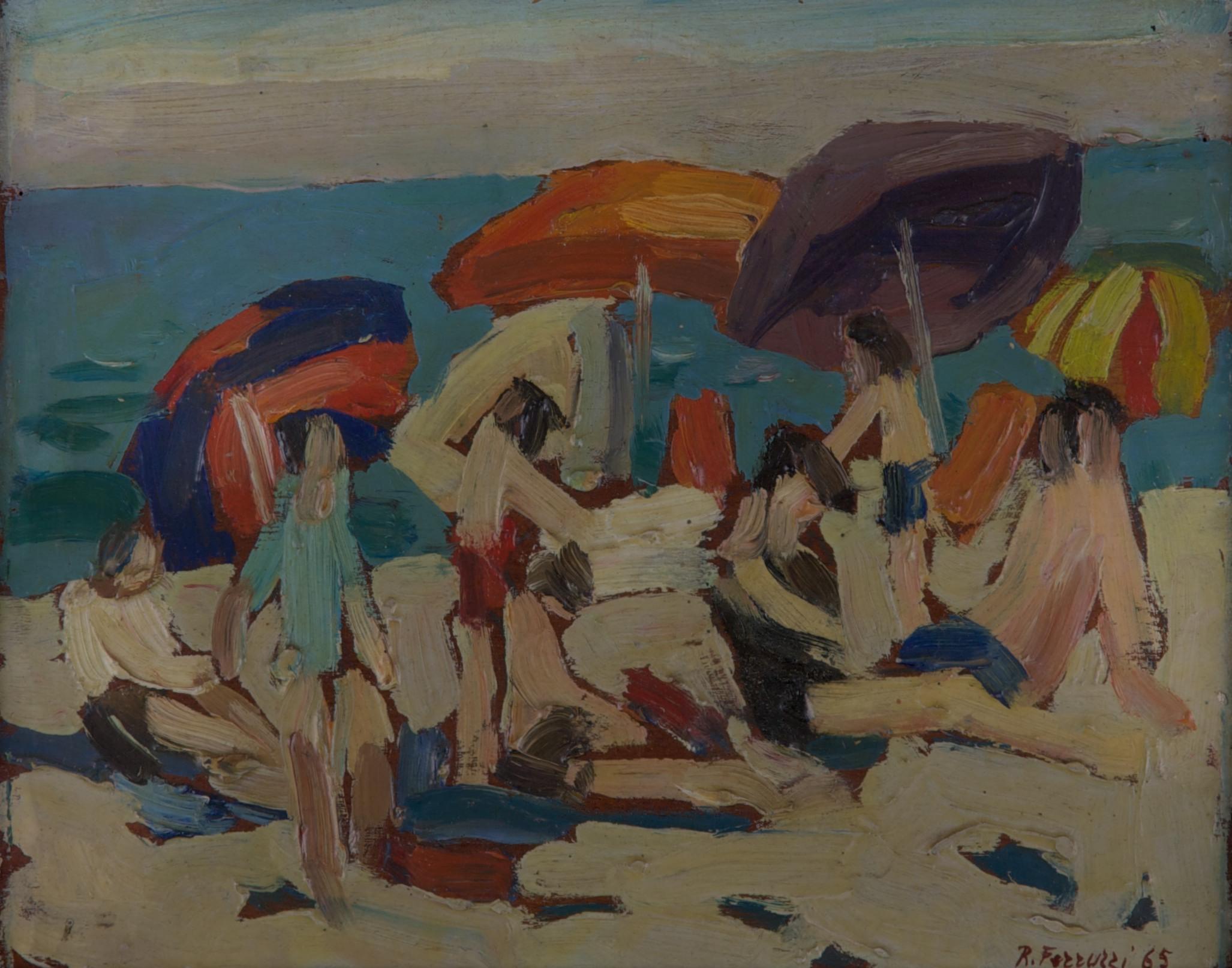 Spiaggia con figure, Perpignan