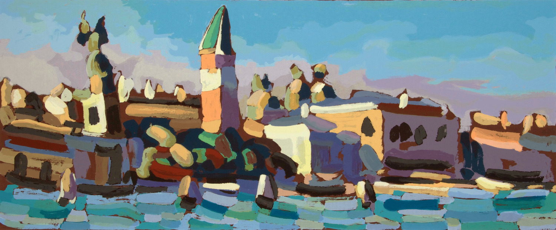 San Marco  , 100 x 50cm.   Write to   info@robertoferruzzi.com   for a quotation.