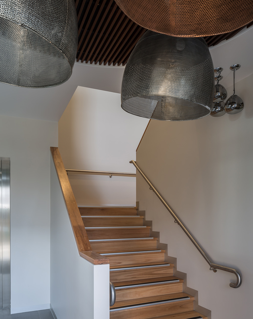 Staircase to the huge function room