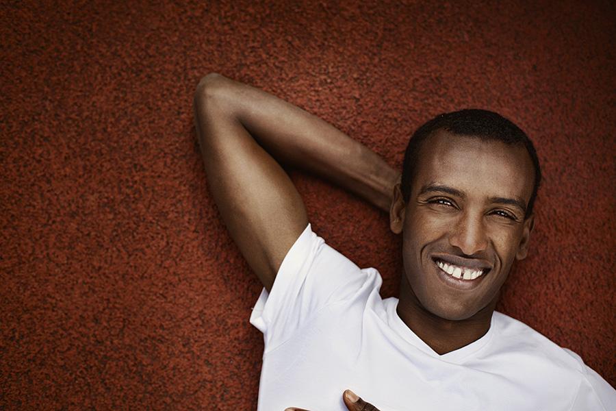 Mustafa Mohamed, athlete
