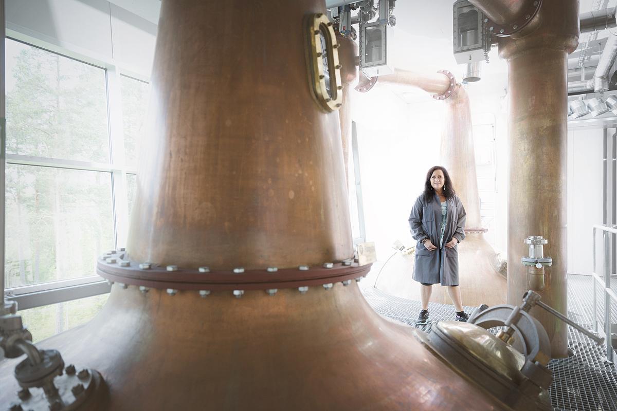 Angela D'Orazio, Master Blender at Mackmyra whisky