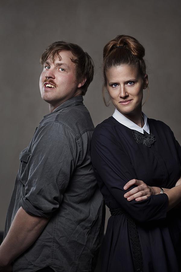 Simon Klenell and Hanna Hedman, winners of 'Nova' design award