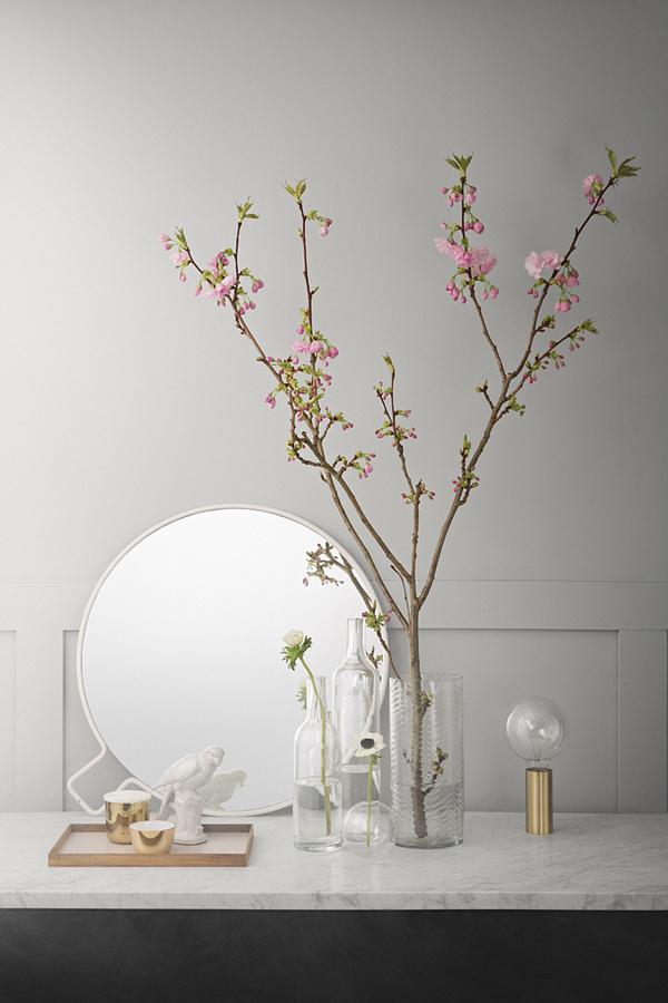 Spring decorations, Nya Rum magazine