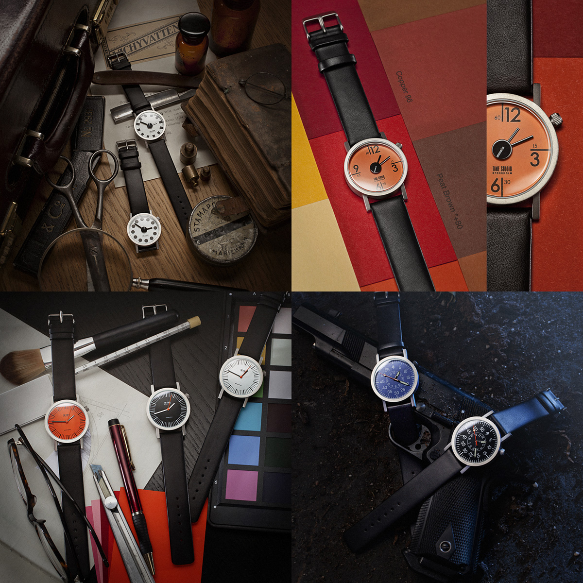 'Time Studio' watches
