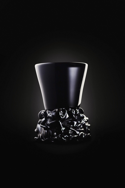 Simon Klenell glass sculpture