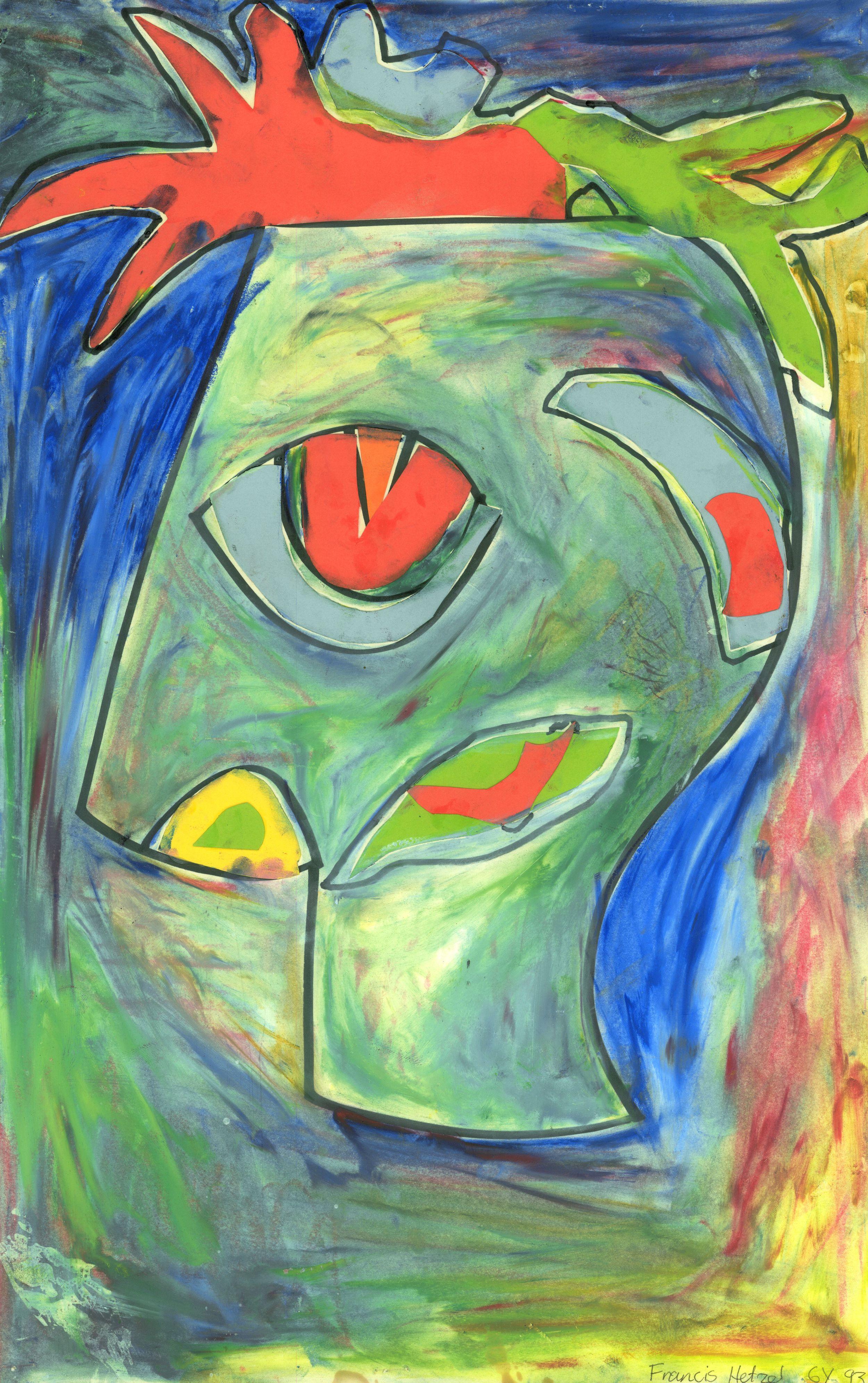 francis self portrait