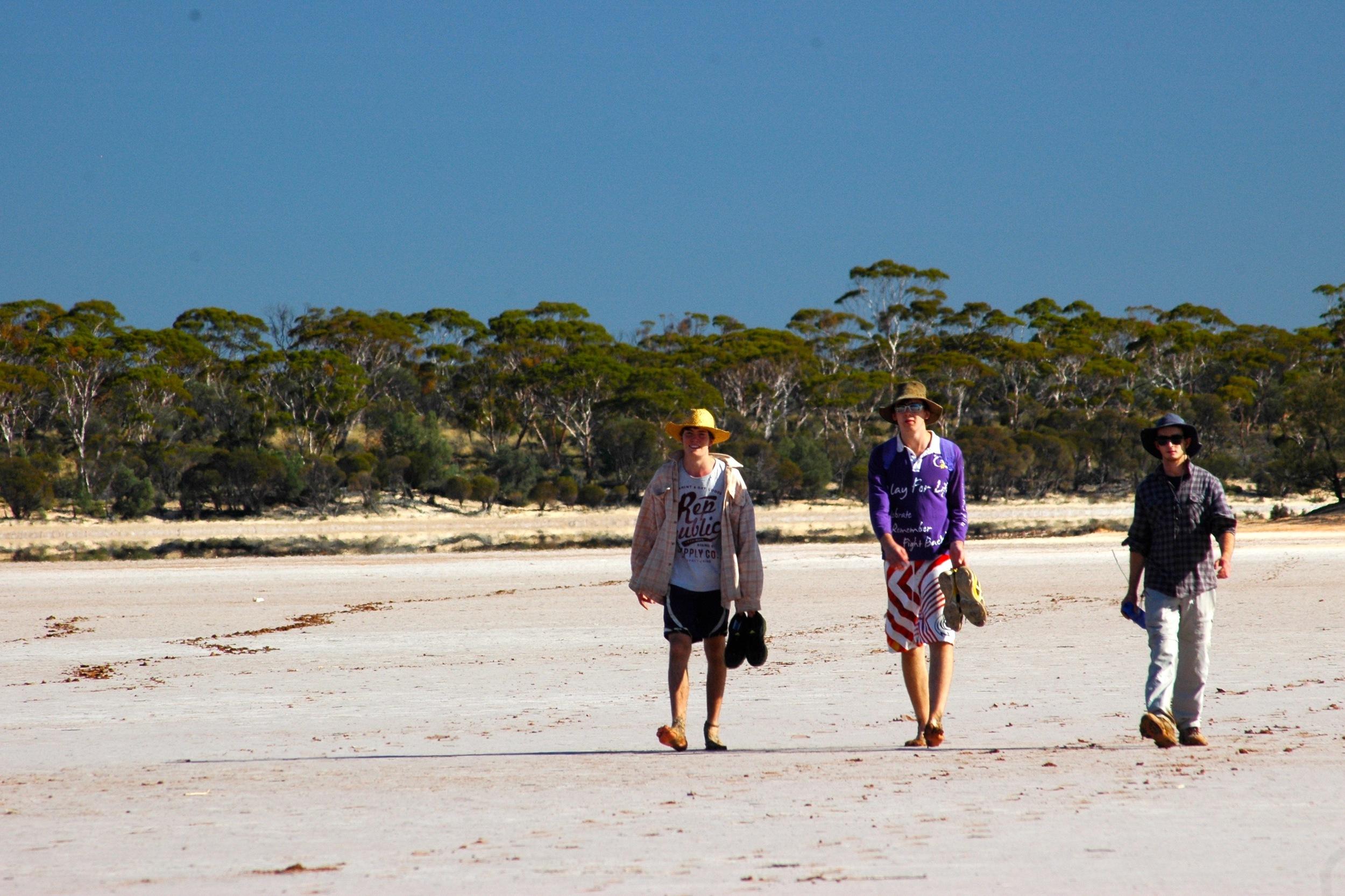 3 walking salt lake