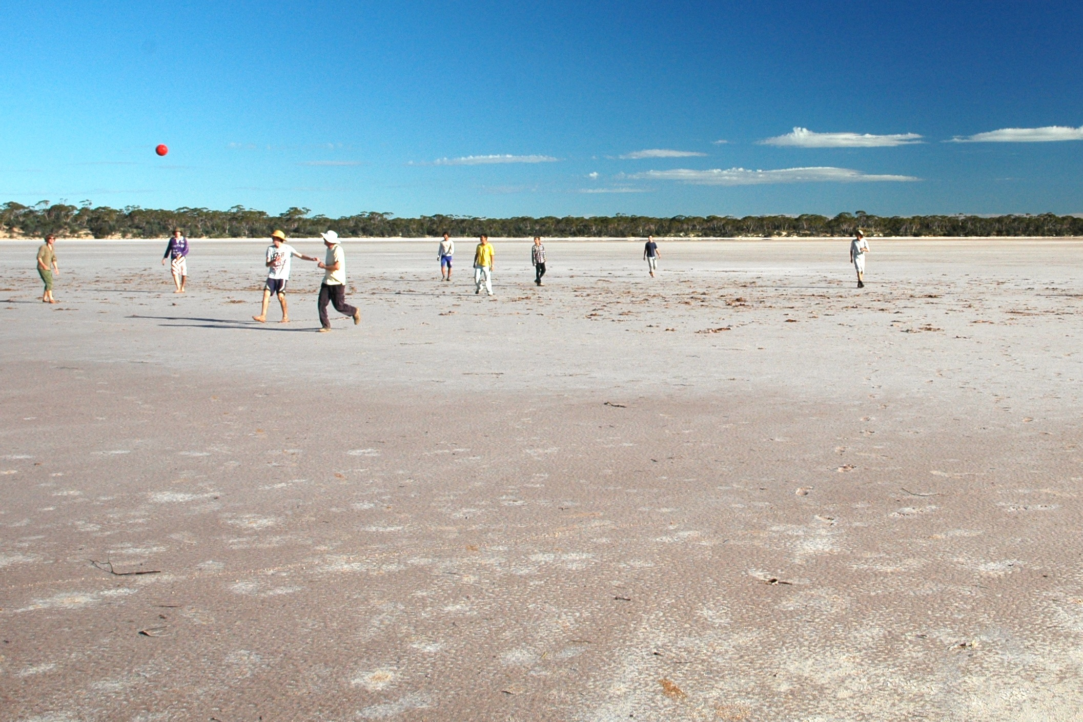 soccer on salt lake