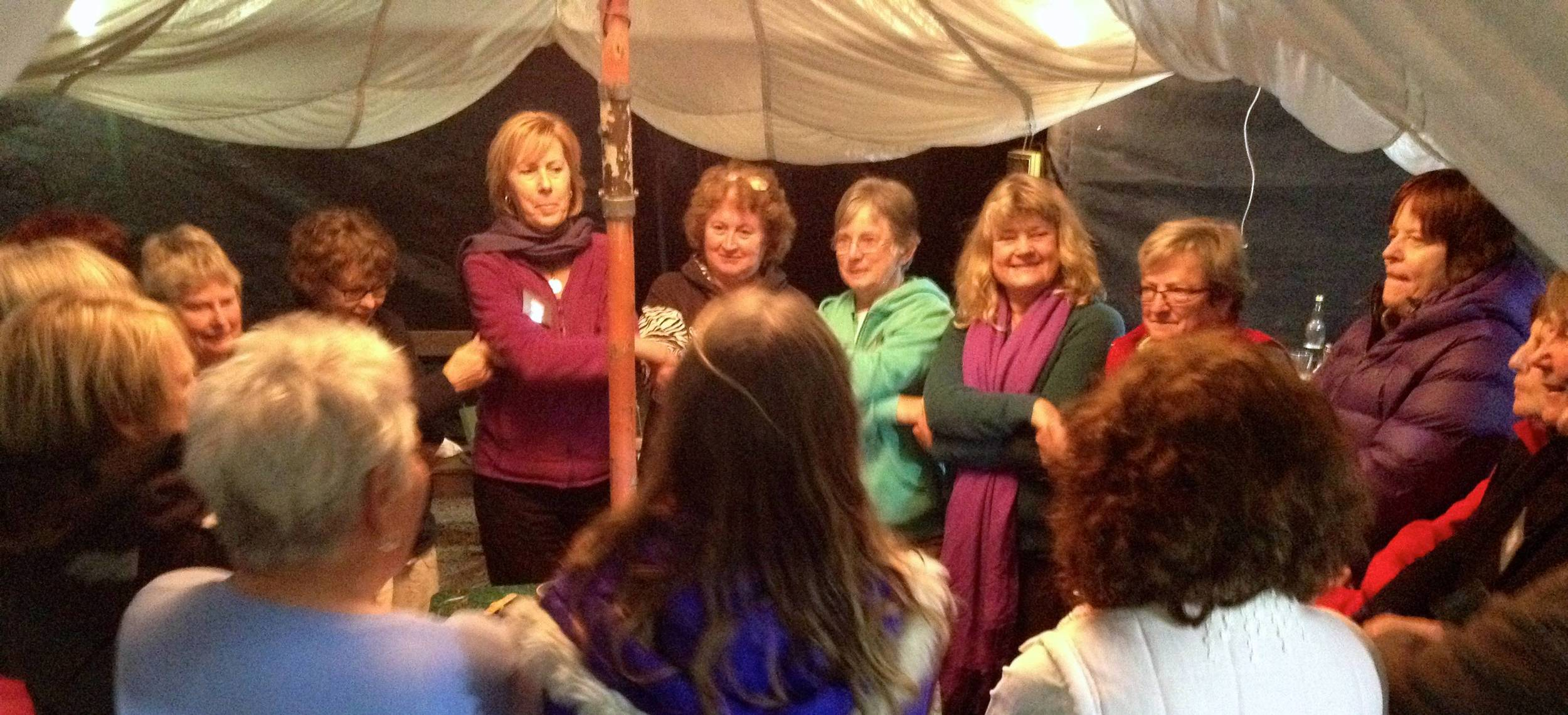 women of the Green Tent