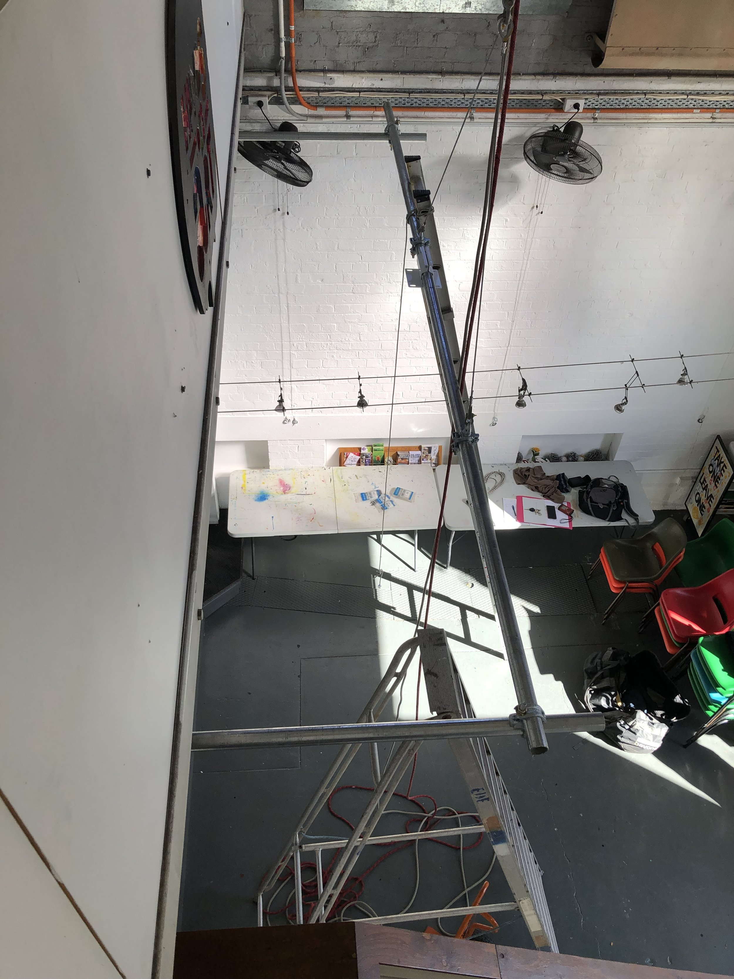 A little overhang