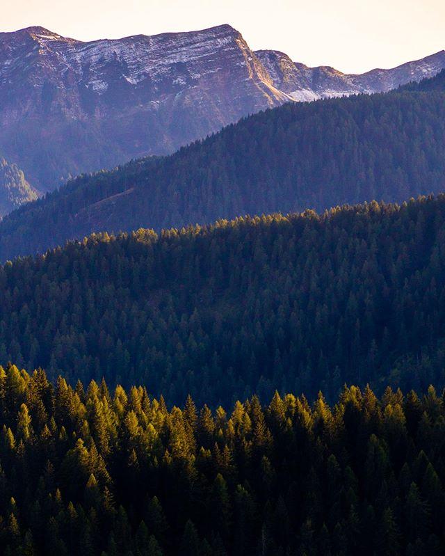 Wavey Italian Mountains.