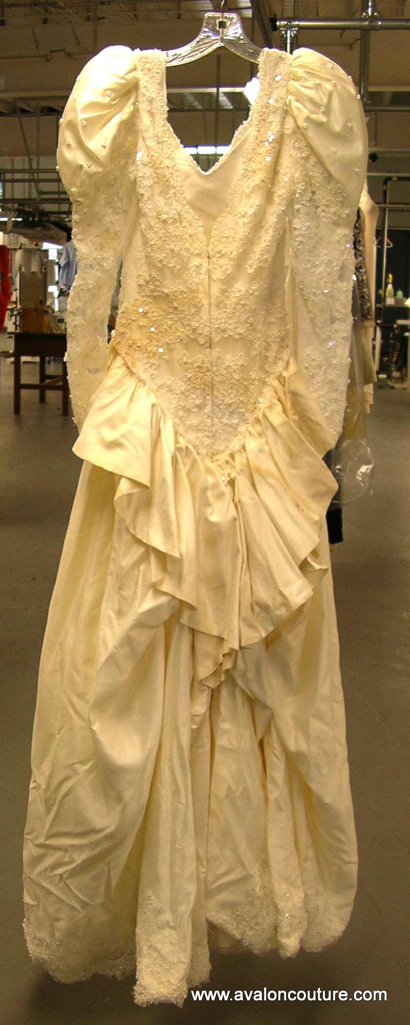 """Wedding Gown """"Before"""""""
