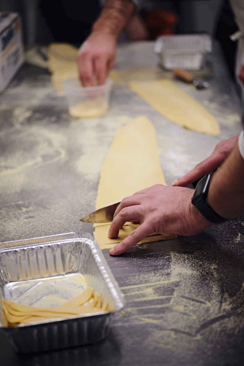 Pasta Making at Park and Oak