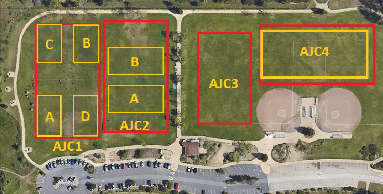Anna Jean Cummings park with specific field labels