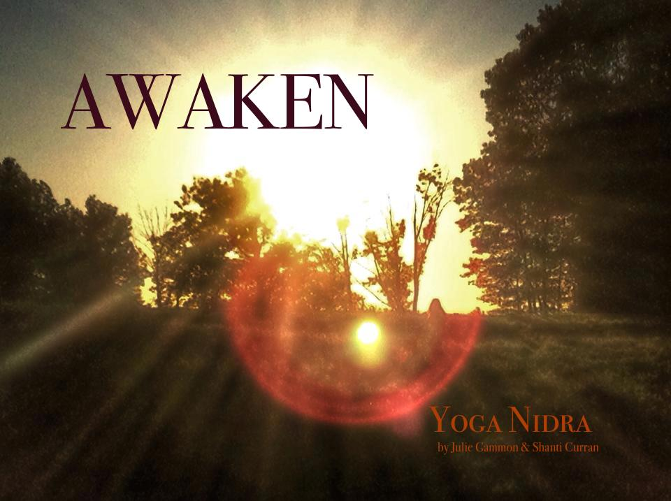 Download a copy of  Awaken...yoga nidra  deep guided relaxation and sound healing to experience the divine superconscious state of yoga nidra as often as you like!