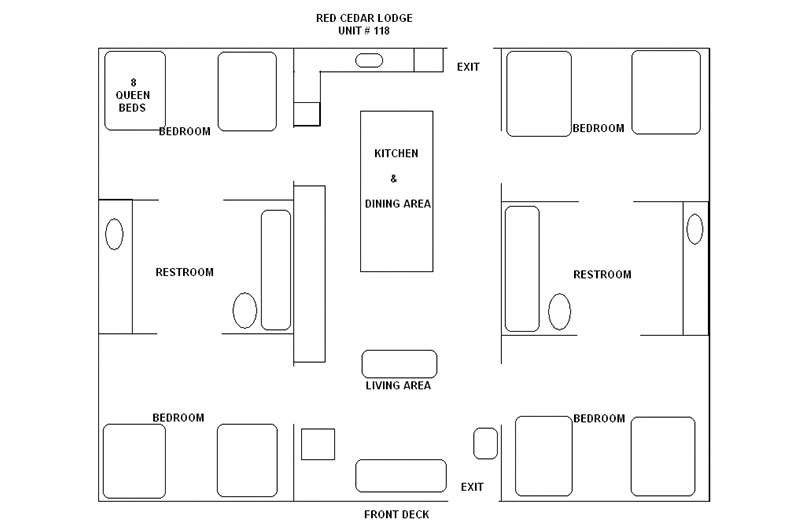 Copy of lake house rental in the Missouri Ozarks_floorplan