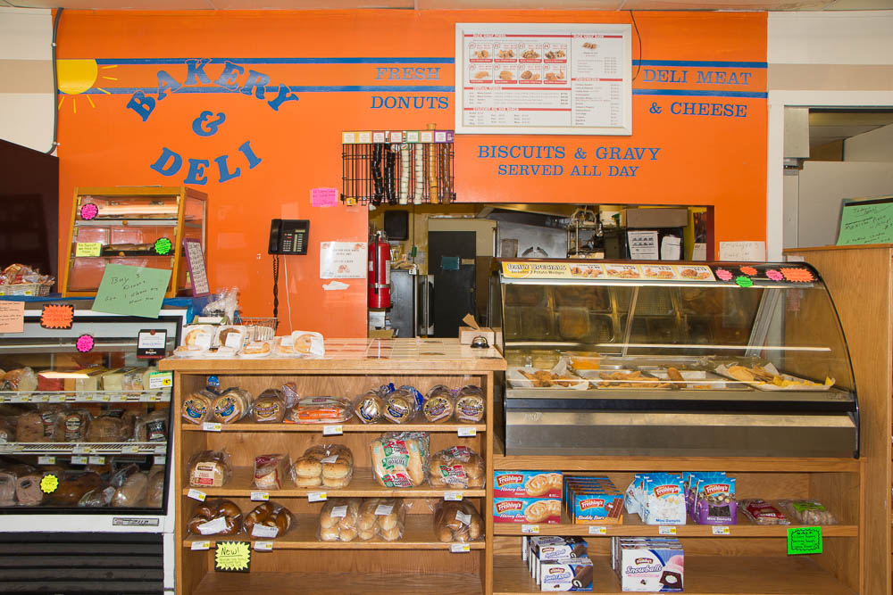 Deli and bakery departments