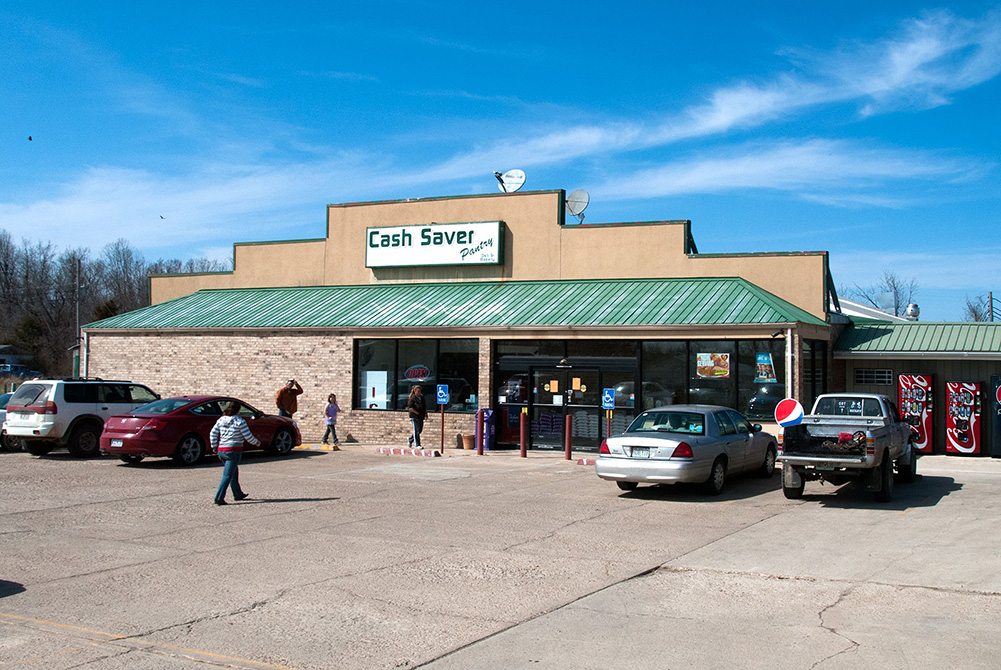 The Cash Saver Pantry is a full service supermarket