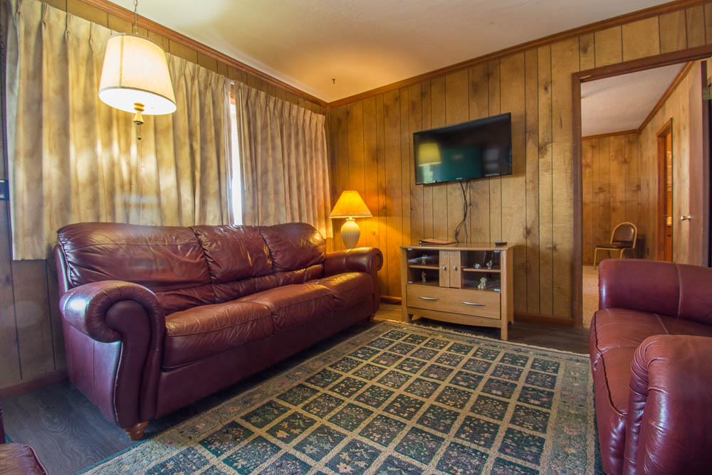 Lake house rental in the Missouri Ozarks_living room