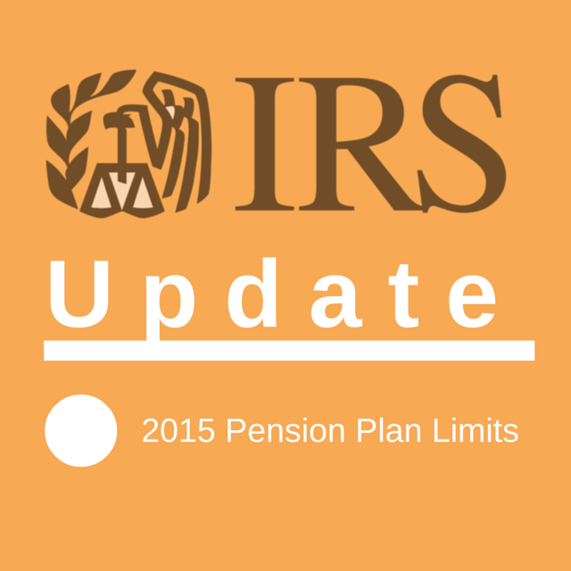 Pension Plan Limits 2015