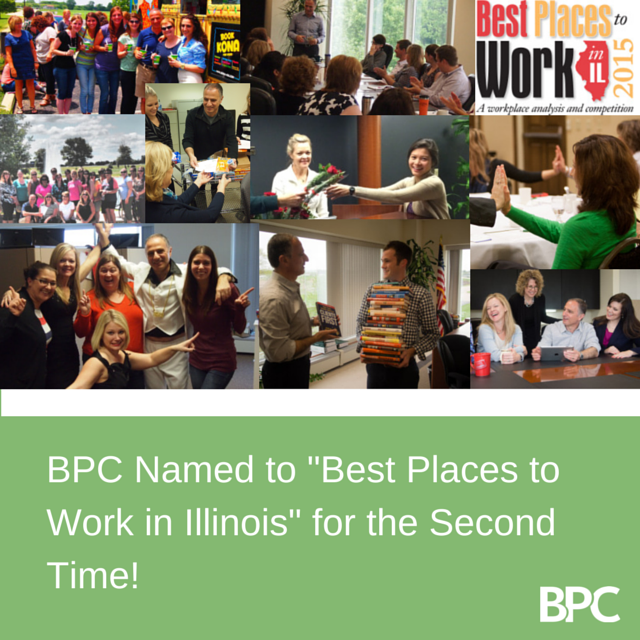 BPC Named to List of Best Places to Work in Illinois for the Second Time