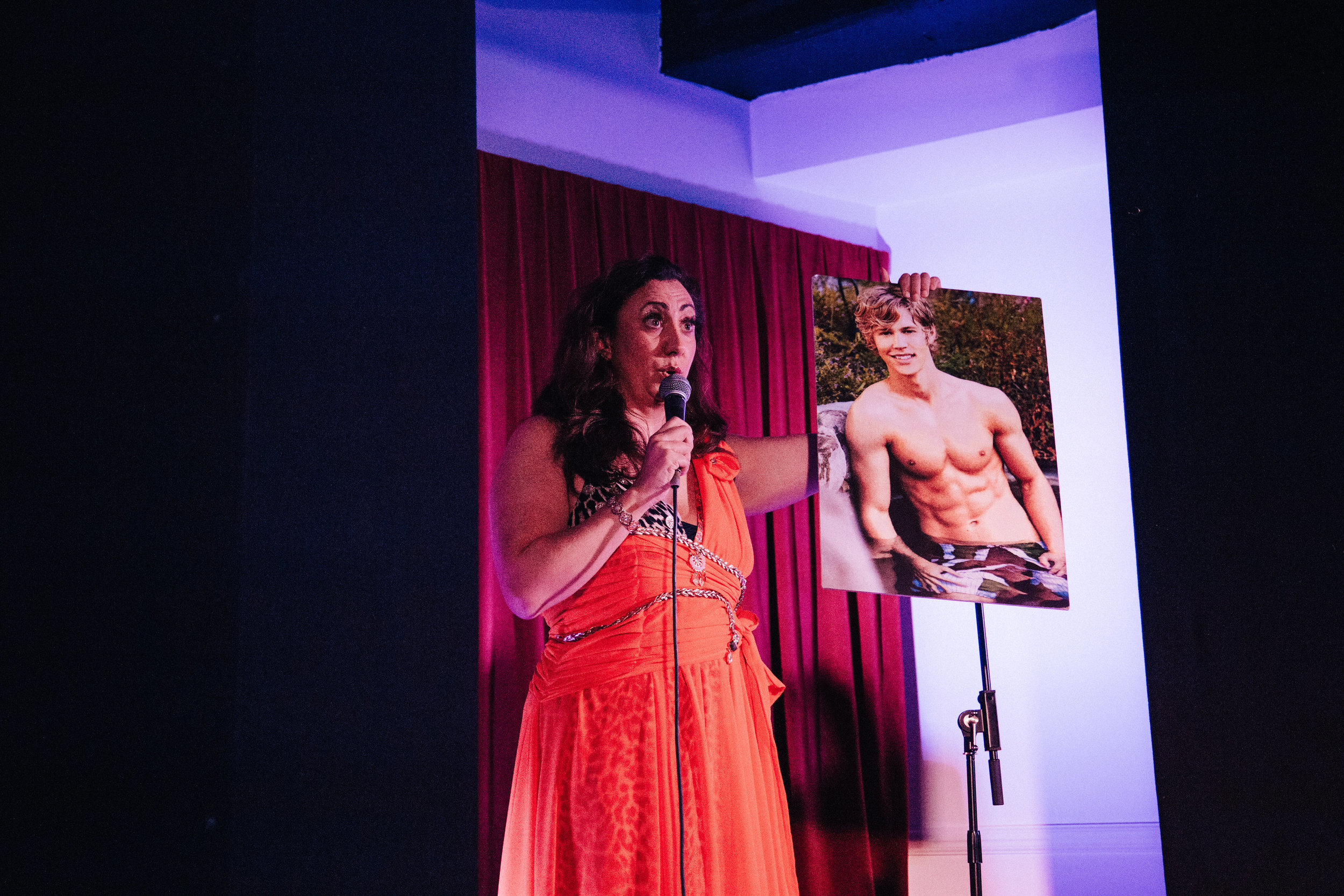 Alyssa Kyria on stage