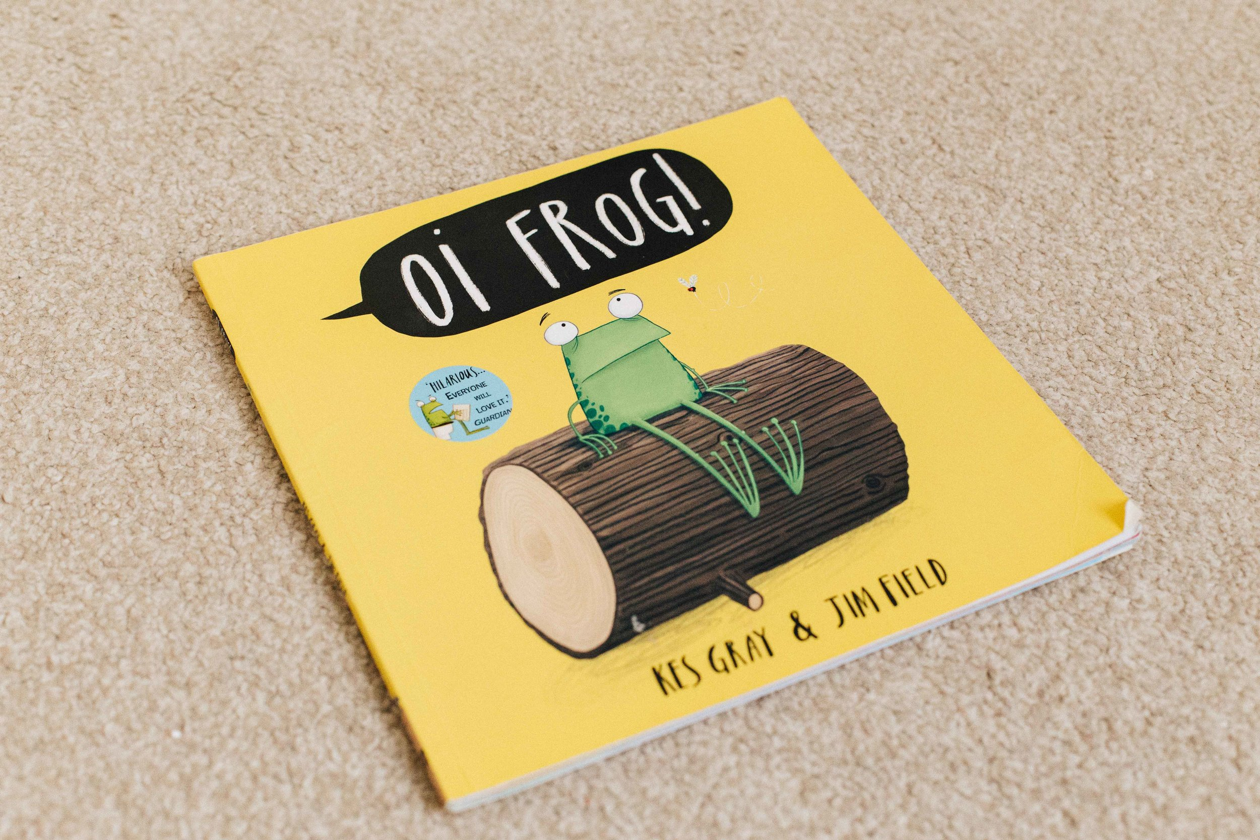OI FROG - By Kes Gray and Jim Field