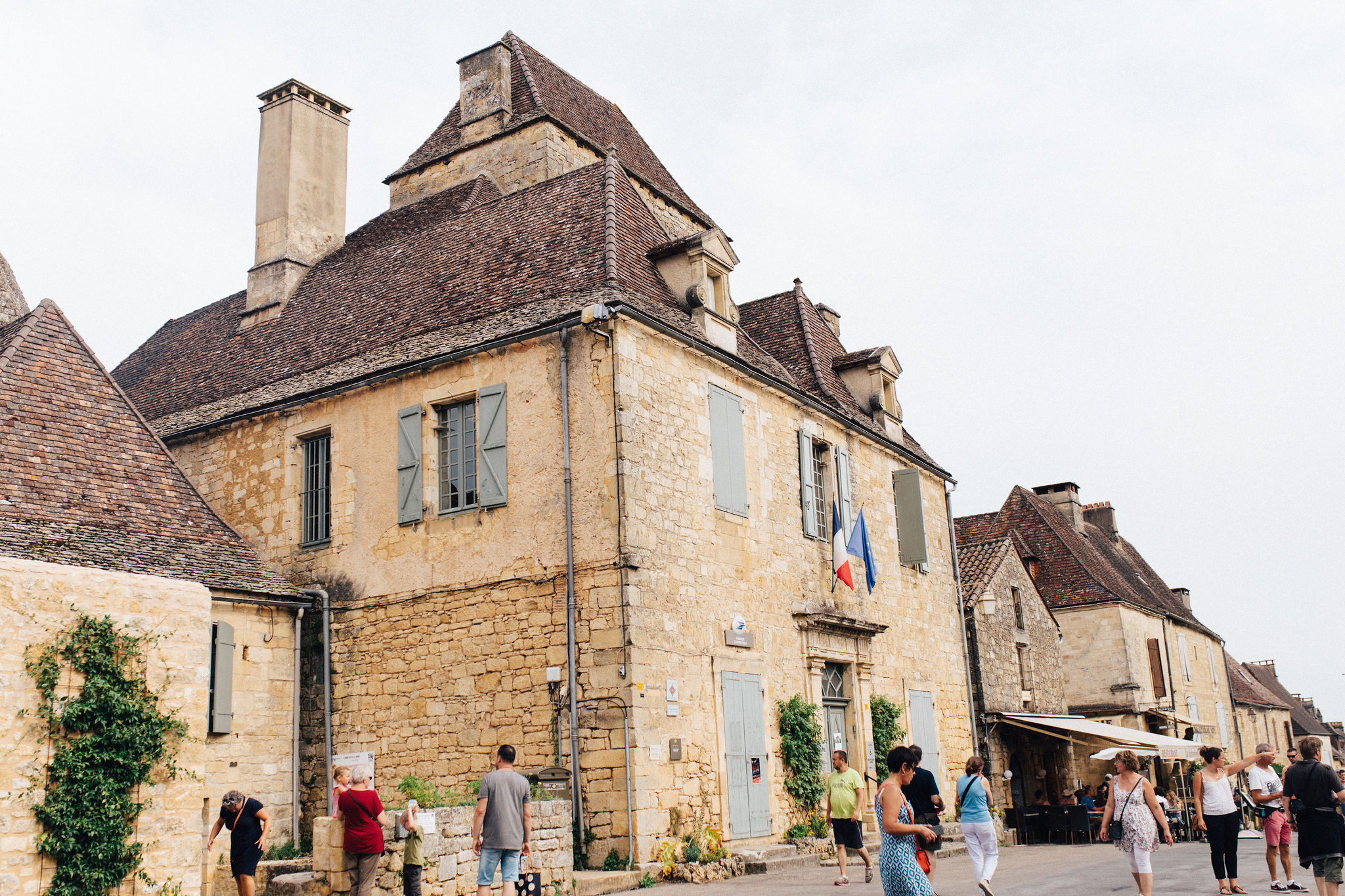 Town hall of Domme, Dordogne