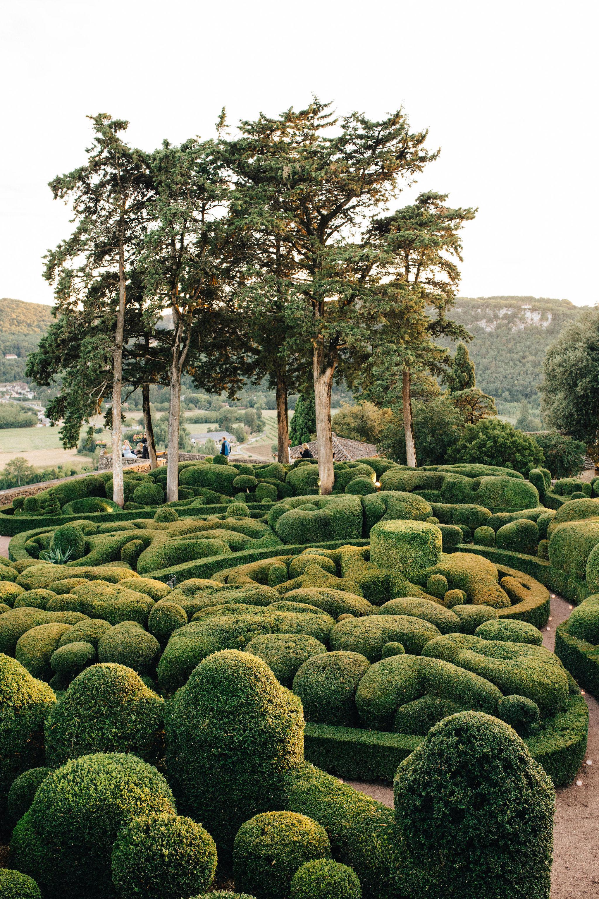 Les Jardins de Marqueyssac - view from inside