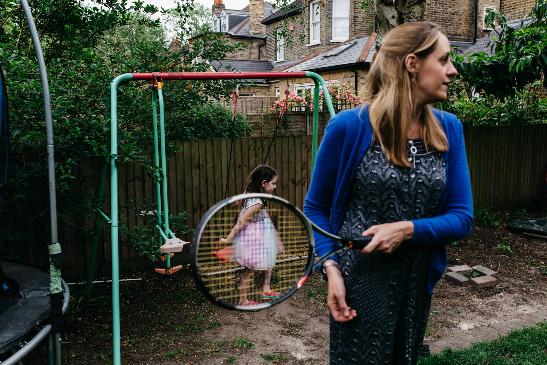 Family photographer in South London | Mother and daughter in the garden, Beckenham